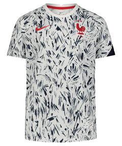 """Kinder Fußballshirt """"FFF Frankreich Prematch Top"""" Kurzarm"""