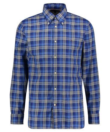 """Tommy Hilfiger - Herren Freizeithemd """"Melange Multi Check Shirt"""" Regular Fit  Langarm"""