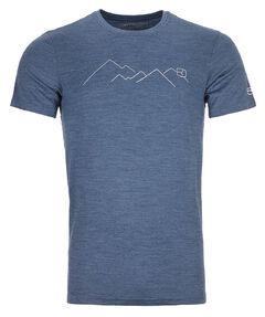 """Herren Bergshirt """"185 Merino Mountain"""""""