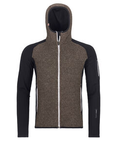 "Herren Fleecejacke mit Kapuze ""Fleece Plus Classic Knit Hoody M"""