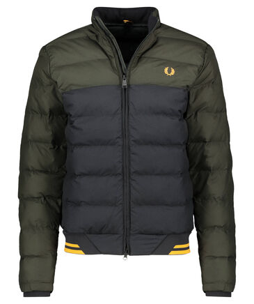 "Fred Perry - Herren Steppjacke ""Colour Block Jacket"""