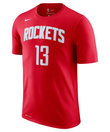 "Nike - Herren Basketballshirt ""James Harden Houston Rockets Nike Dri-FIT"" Kurzarm"