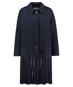 Damen Mantel mit Fransen