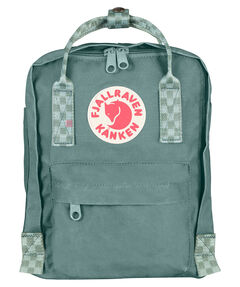 "Kinder Rucksack ""Kånken Mini Frost Green-Chess Pattern"""