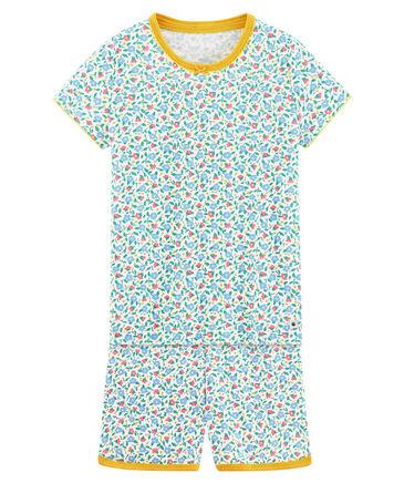 Petit Bateau - Mädchen Schlafanzug zweiteilig kurz
