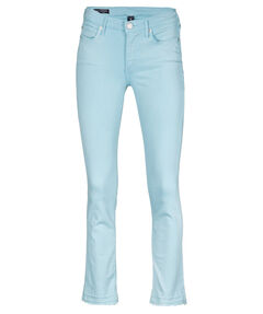 "Damen Jeans ""Halle Modfit Turquoise"" Mid Waist Super Skinny Fit"