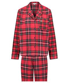 "Damen Pyjama ""Full Flannell Set Holiday"" 2-teilig"