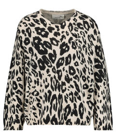 "Damen Pyjamaoberteil ""Soft Knit Sweater Printed Jaguar"" Langarm"