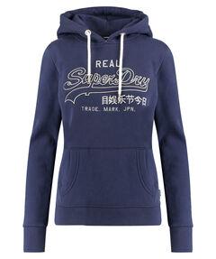 """Damen Sweatshirt """"Vintage Logo EMB Outline Entry Hood"""""""