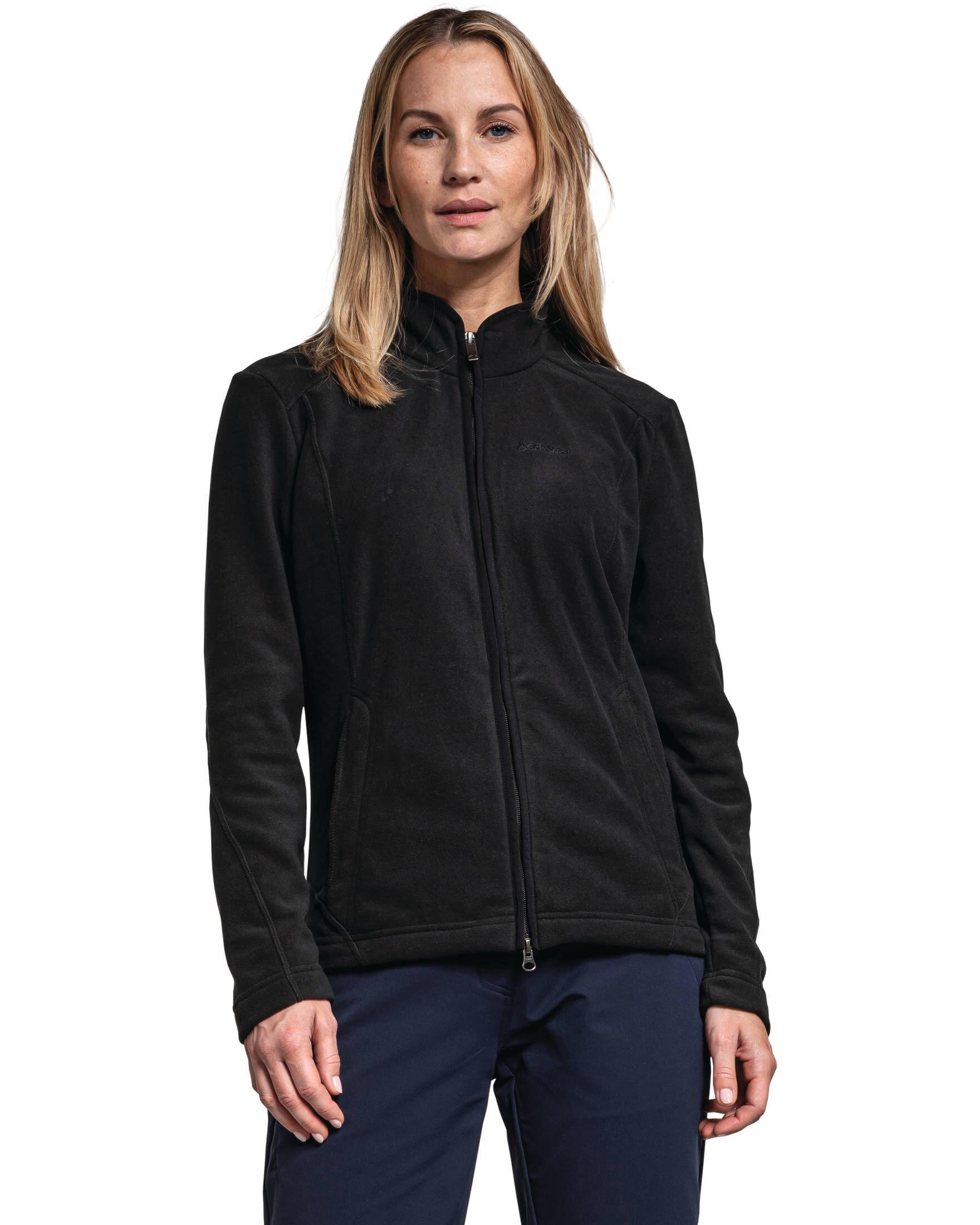 Weiches Und Robustes Fleece Jacke Mit Hoher Atmungsaktivit/ät Outdoor Fleecejacke F/ür Damen Veste Polaire Femme Sch/öffel Jacket Leona2