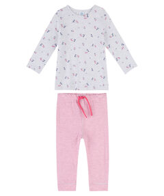 Mädchen Baby Schlafanzug