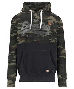 "Herren Sweatshirt ""Vintage Logo Panel Camo Hood"""