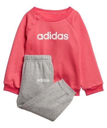 adidas Performance - Mädchen Baby und Kleinkinder Jogginganzug zweiteilig