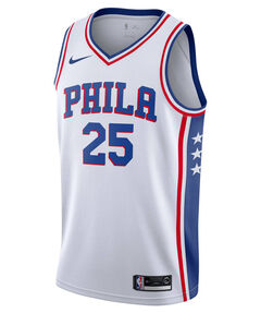 "Herren Basketballtrikot ""Ben Simmons Association Edition Swingman"" Ärmellos"
