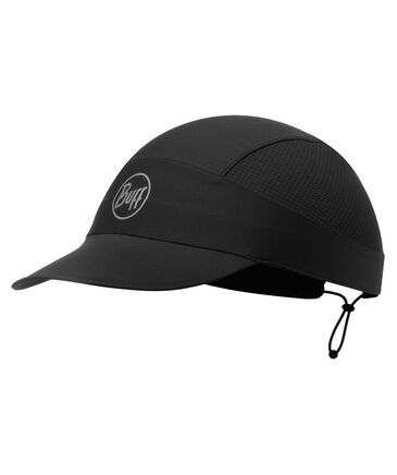 "BUFF - Herren Laufsport Kappe ""Pack Run Cap R-Solid Black"""