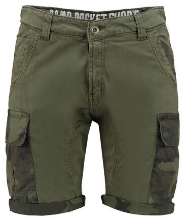 """Alpha Industries - Herren Bermudas """"Camo Pocket Short"""""""