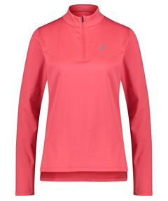 """Damen Running Sweatshirt """"Silver LS 1/2 Zip Winter Top"""" Langarm"""