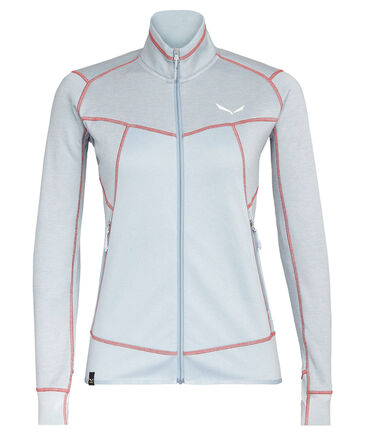 "Salewa - Damen Fleecejacke ""Puez Melange2 Polarlite Women's Full-Zip-Fleece"""