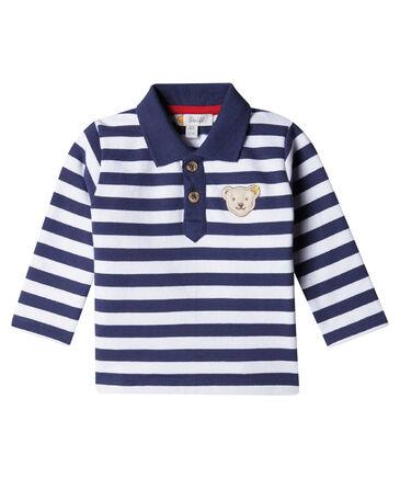 Steiff - Jungen Baby Poloshirt Langarm
