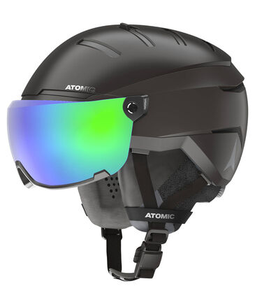 "Atomic - Skihelm ""Savor GT AMID Visor HD"" Black"