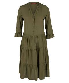 Damen Blusenkleid 3/4-Arm