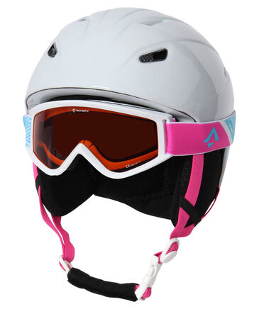 "Tecno Pro - Kinder Skihelm ""Pulse JR"" mit Skibrille ""Freeze 2.0"""
