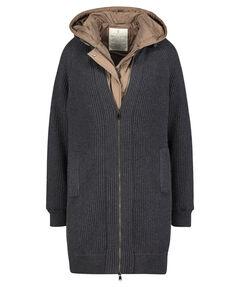 Damen Mantel 2in1 mit Kapuze
