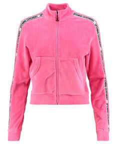 "Damen Sweatjacke ""Velour Track Jacket"""