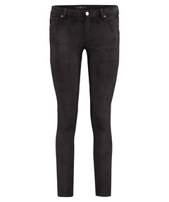 Damen Samthose Super Skinny Fit