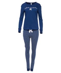 """Damen Pyjama """"Einfach wunderbar"""" zweiteilig"""