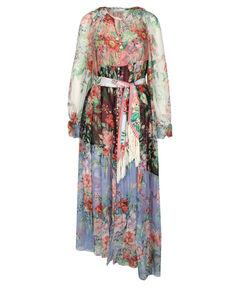 """Damen Seidenkleid """"Bellitude Spliced Long Dress"""""""