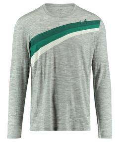 "Herren Bergshirt ""Ascent Stripe"" Langarm"