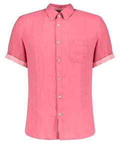 Herren Leinenhemd Kurzarm Regular Fit