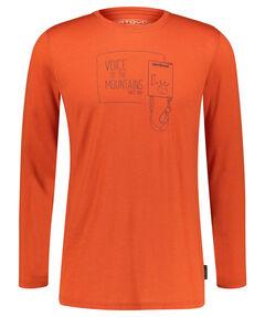 """Herren Bergsport Shirt """"185 Merino F2"""" Langarm"""