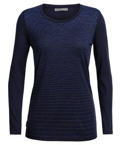 "Damen Bergsport-Shirt ""Tech Lite Landscape Lines"" Langarm"