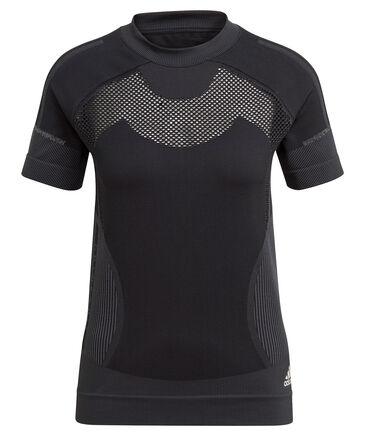 "adidas Performance - Damen Laufshirt ""Primeknit"" Kurzarm"