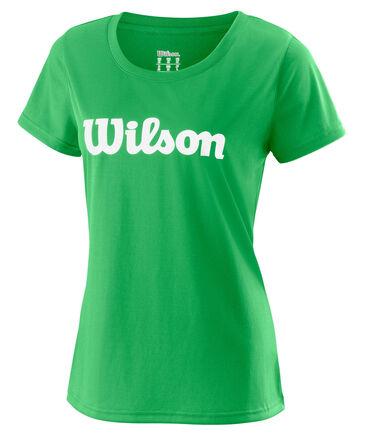 """Wilson - Damen Tennisshirt """"UWII Script Tech Tee"""" Kurzarm"""
