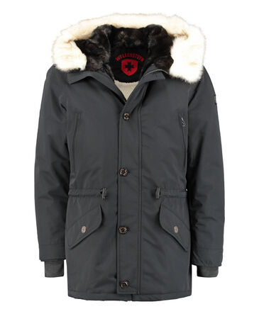"Wellensteyn - Herren Parka ""Black X Men"""