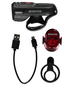 "Fahrrad Beleuchtungsset ""AURA 45 USB / Nugget II RL K-Set"""