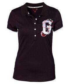 "Damen Poloshirt ""Black Birdie"" Kurzarm"