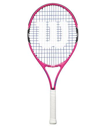 """Wilson - Kinder Tennisschläger """"Burn Pink 25"""" besaitet"""