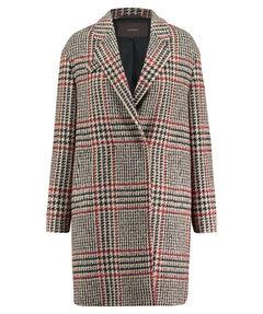 Damen Tweed-Mantel