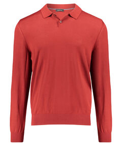 Herren Poloshirt Regular Fit Langarm