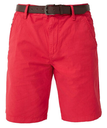 s.Oliver Red Label - Herren Chino-Bermudas Plek Chino Loose Fit