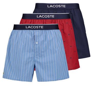 Lacoste - Herren Boxershorts 3er-Pack