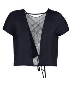 "Damen Trainingsshirt ""UA Misty Embroidery Short Sleeve"" Cropped Kurzarm"