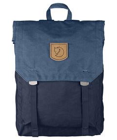 """Tagesrucksack """"Foldsack No.1"""" dark navy/uncle blue"""