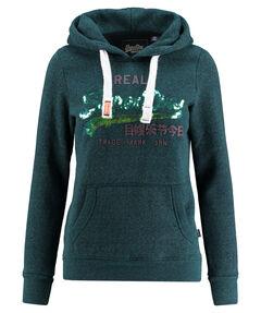 "Damen Sweatshirt ""Vintage Logo Sequin Entry Hood"" mit Kapuze"
