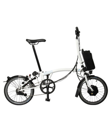 """Brompton - E-Bike """"LD-Ausstattung mit H-Lenker, Schutzblechen und 6-Gang-Schaltung"""" – faltbar"""