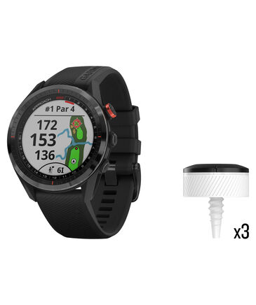 "Garmin - GPS-Golfuhr ""Approach S62 w/CT10 Bundle"""